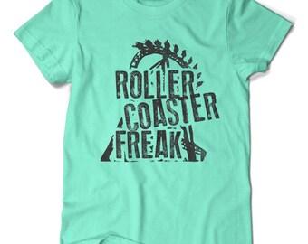 Roller Coaster Freak, T-shirt