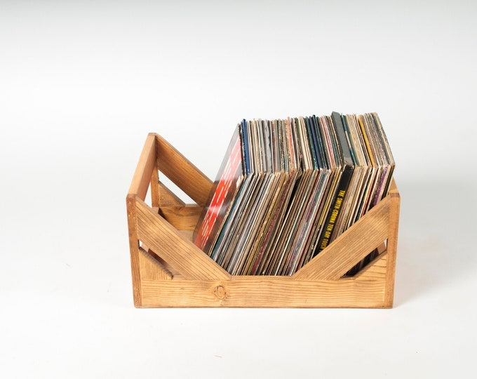 The Milk Crate Alternative: 12-Inch Vinyl Record Storage