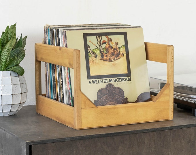 The Cube: 12-Inch Record Storage Crate