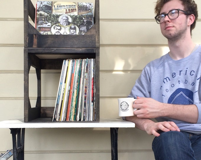 A Crate-Digger's Go-To: Deluxe Jr. 12-Inch Vinyl Storage Unit