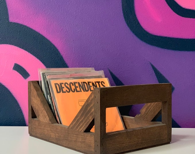 7-Inch Record Storage Crate