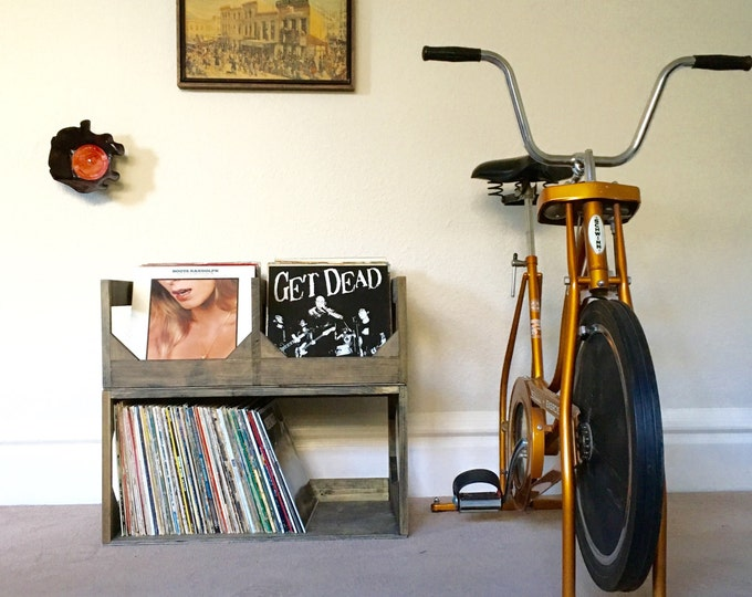 Deluxe Vinyl Record Storage System! Stash you records in style // Displays and protects your collection of ov
