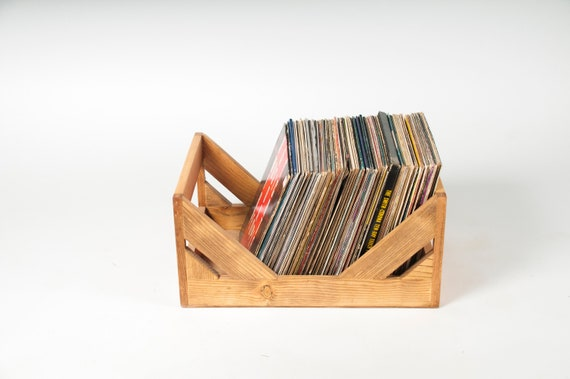 The Milk Crate Alternative 12 Inch Vinyl Record Storage Etsy