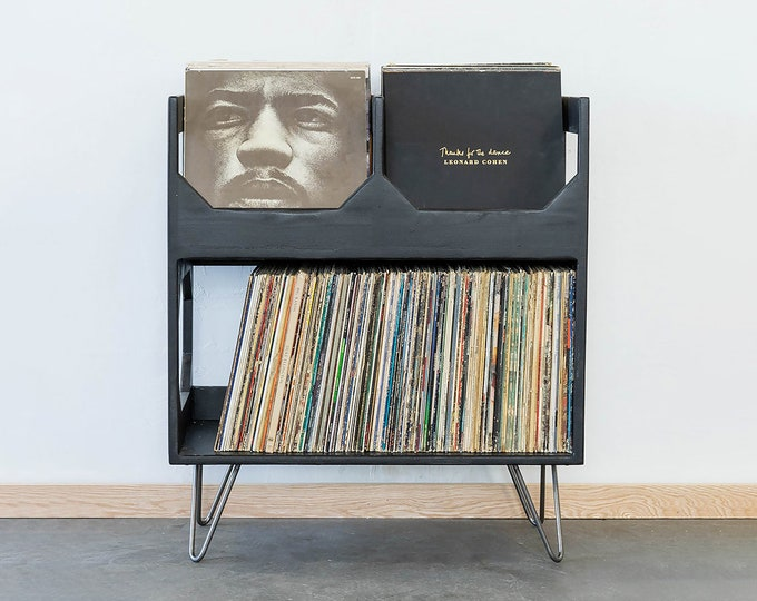The Deluxe Vinyl Record Storage : Elevate Your Space