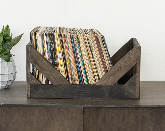 The Milk Crate Alternative: 12-Inch Vinyl Record Storage