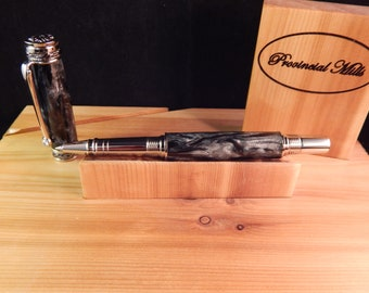 Majestic Jr. Rollerball with Black Hole Acrylic #RB3070