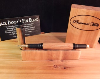 Classic Rollerball Pen with Whiskey Barrel Tiger Oak #RB3010