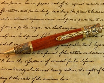 Phoenix Ballpoint Pen with Padauk - Free Shipping #BP00314