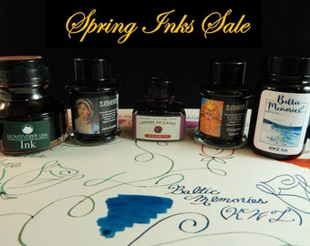Spring Ink Sale - Select Colors and Brands