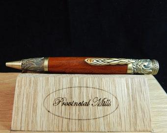 Phoenix Ballpoint Pen with Padauk #BP00314