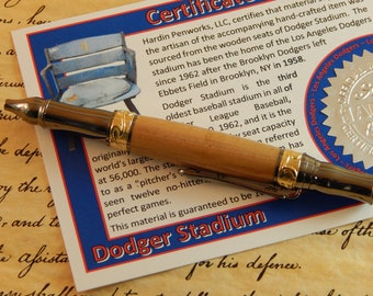 Nouveau Sceptre Ballpoint with Dodger Stadium Wood - Free Shipping #STW212