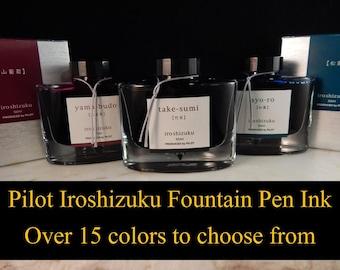 SALE *** Pilot Iroshizuku Fountain Pen Ink - 50ml Bottles