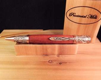 Phoenix Ballpoint Pen with Padauk #BP00314