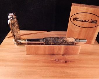 Majestic Jr. Fountain Pen with Buckeye Burl #FP10131