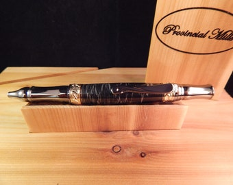 Nouveau Sceptre Ballpoint with Damascus Steel Metal #ME105