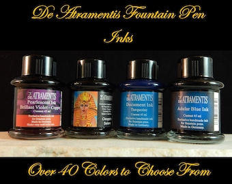 De Atramentis Fountain Pen Inks - Over 40 colors - 45ml