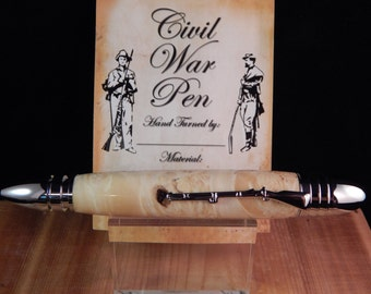 Civil War Ballpoint with Box Elder #BP00361