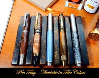 Five Pen Tray - Available in Five Different Colors