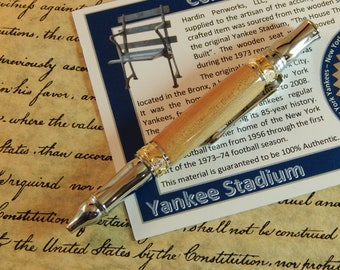 Nouveau Sceptre Ballpoint with Yankee Stadium Wood - Free Shipping #STW206