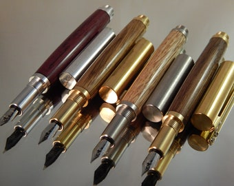 Craft Your Own *** Provincial Fountain Pen - Choose Your Wood - Choose Your Fittings #FP10285