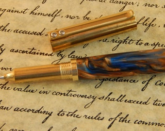 Provincial C3604 brass Rollerball Pen with Kings Ransom Acrylic - Free Shipping #RB3155