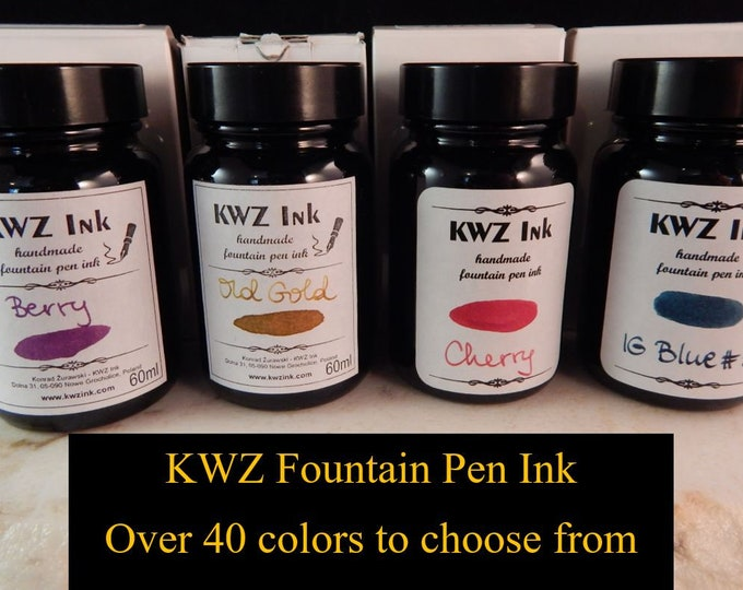 Featured listing image: KWZ Fountain Pen Ink 60ml
