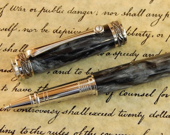 Majestic Jr. Rollerball with Black Hole Acrylic - Free Shipping #RB3070