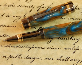 Classic Rollerball Pen with Atlantis Acrylic - Free Shipping #RB3079