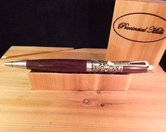Filibella Twist Ballpoint Pen with East Indian Rosewood #BP00262