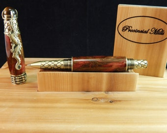 Dragon Rollerball Pen with Red Desert Acrylic #RB3113