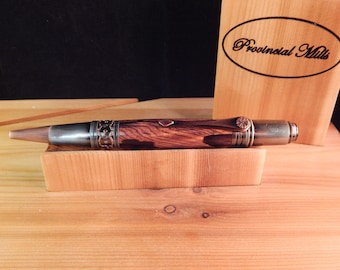 Art Deco Ballpoint with Cocobolo #BP00395 Exhibition Collection