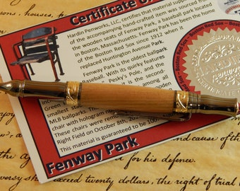 Nouveau Sceptre Ballpoint with Fenway Park Wood - Free Shipping #STW205