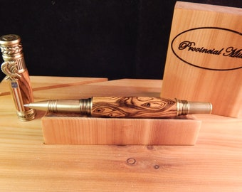 American Patriot Rollerball Pen with Bocote #RB3120