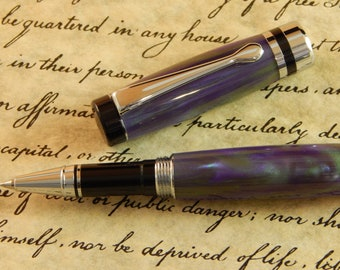 Classic Rollerball Pen with Noble Affair Acrylic - Free Shipping #RB3081