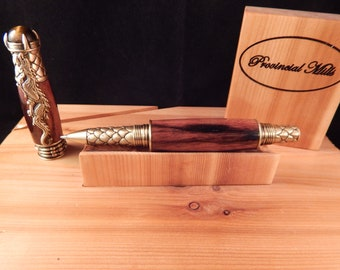 Dragon Rollerball Pen with Macassar Ebony #RB3111