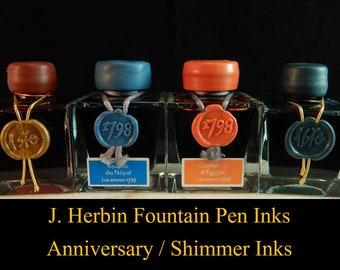 J. Herbin Inks - Anniversary / Shimmer Inks