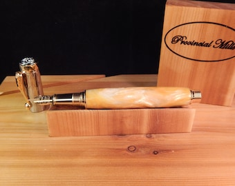 Electra Fountain Pen with Gilded Ice Acrylic #FP10278
