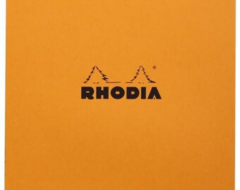 Classic Rhodia Notepad - Top Staple - Lined - 80 Sheets - 8 1/4 x 11 3/4