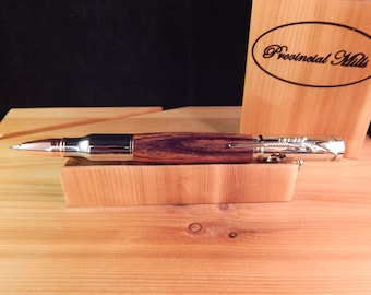 Bolt Action .30 Mechanical Pencil with Cocobolo  #PC064