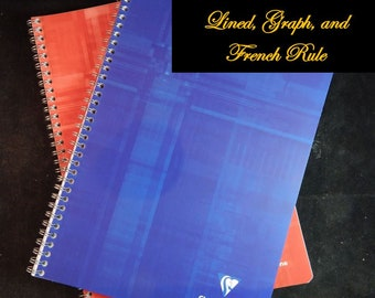 Clairefontaine Notebooks / European Size and American Size