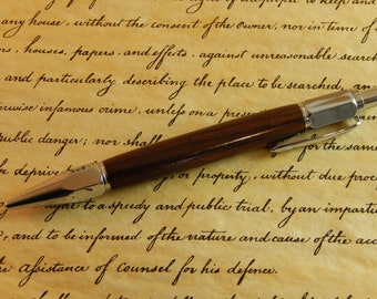 Vertex Mechanical Pencil with East Indian Rosewood - Free Shipping #PC052