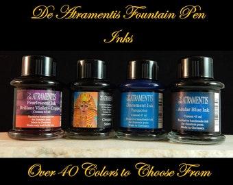 De Atramentis Fountain Pen Inks - Over 40 colors - 45ml