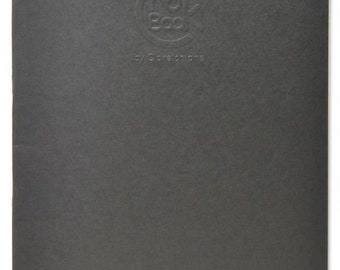 Clairefontaine Crok Sketch Notebooks Side Stapled 6 3/4 x 8 3/4 24 sheets Grey Cover