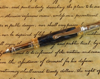 Nouveau Sceptre Ballpoint with Tropical Storm Acrylic - Free Shipping #BP00272