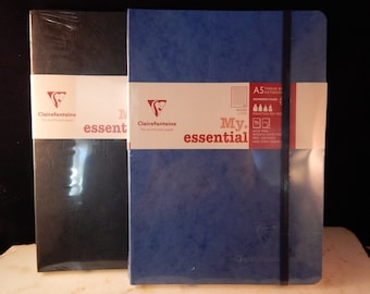 """Clairefontaine My Essential Bound Paginated Notebook 6 x 8 1/4, 96 Sheets Lined"""""""