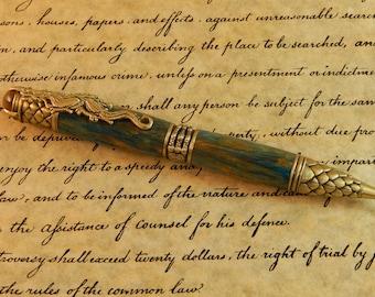 Dragon Ballpoint Pen with Oasis Acrylic - Free Shipping #BP00323