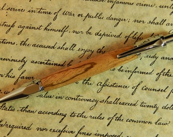 Vertex Mechanical Pencil with Zebra Wood - Free Shipping #PC051