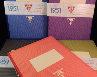 """8 1/4"""" x 5 3/4"""" Letter Writing and Note Tablets by Clairefontaine"""