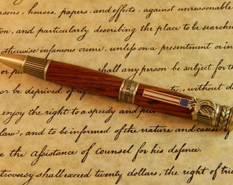Patriot Ballpoint with Cocobolo - Free Shipping #BP00282