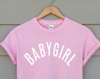 673ecc9d0 BABYGIRL T-shirt - tumblr shirt - hipster